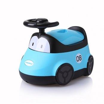 Горшок Babyhood, Автомобиль, голубой