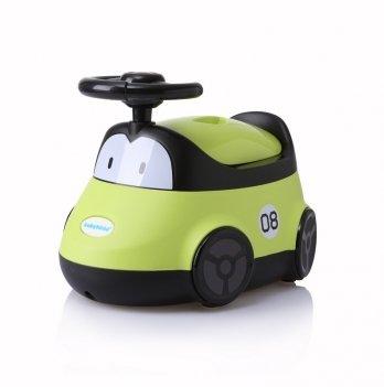Горшок Babyhood, Автомобиль, зеленый