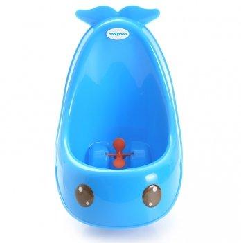 Детский писсуар для мальчиков Babyhood, голубой