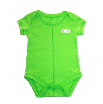 Боди для новорожденных, Lucky tots, салатовый, короткий рукав
