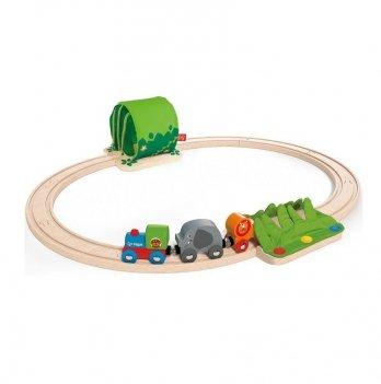 Набор железной дороги Путешествие по джунглям HAPE