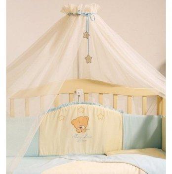 Балдахин на кроватку Маленькая Соня Tiny LoveМолочный/Голубой 050107