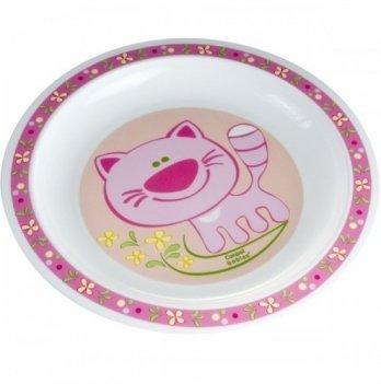 Детская тарелка Canpol babies пластиковая мелкая