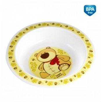 Детская тарелка Canpol babies пластиковая глубокая