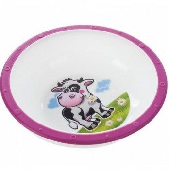 Детская тарелка Canpol babies антискользящая, пластиковая