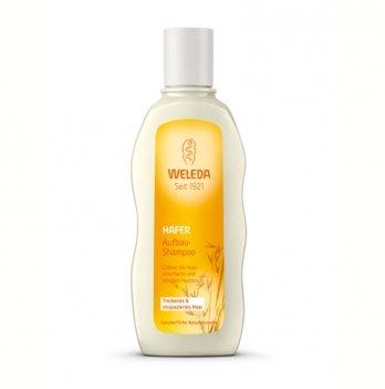 Шампунь-курс восстанавливающий для сухих волос с экстрактом овса, WELEDA 190 ml, 97726