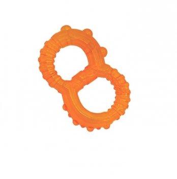 Прорезыватель с водой Baby Team Восьмерка 4003 оранжевый