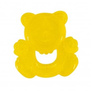 Прорезыватель с водой Baby Team 4004 Мишка Желтый