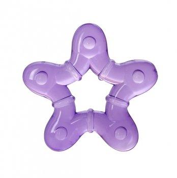 Прорезыватель с водой Baby Team 4005 фиолетовая звездочка