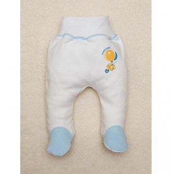 Ползунки SWEET BABY Кроха, с голубой окантовкой