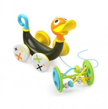 Игрушка-каталка Yookidoo 25292 Музыкальная утка