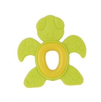 Прорезыватель мягкий Baby Team 4012 черепашка зеленый