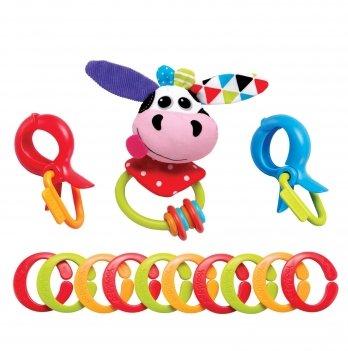 Игрушка-цепочка Yookidoo 70637 Коровка