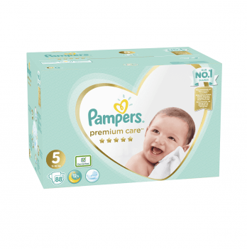 Подгузники Pampers Premium Care Размер 5 (Junior) 11-16 кг 88 шт