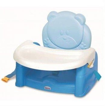 Стульчик-бустер для кормления Weina Teddy Bear голубой