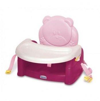 Стульчик-бустер для кормления Weina Teddy Bear красный