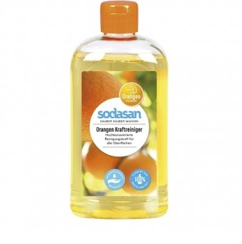 Органический концентрат-антижир Sodasan, Orange, 140, 500 мл