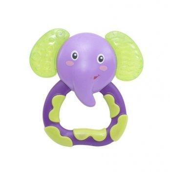 Прорезыватель Baby Team Любимые зверушки 4032 слоник