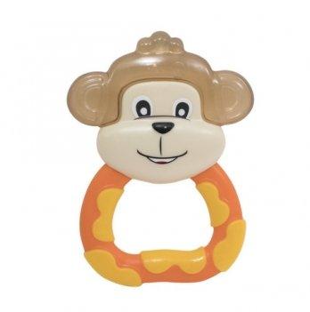 Прорезыватель Baby Team Любимые зверушки 4032 обезьянка