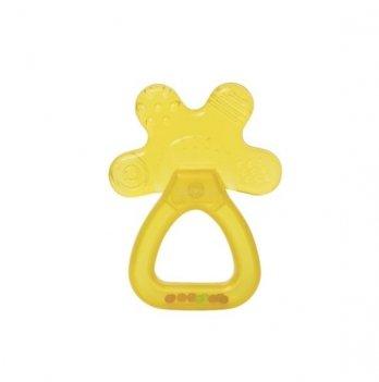 Прорезыватель-погремушка с водой Baby Team 4036 4+ желтый