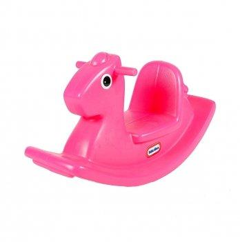 Качалка Little Tikes Веселая Лошадка, розовая