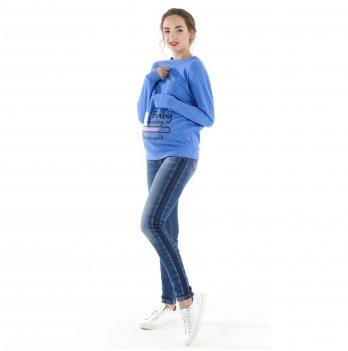 Джинсы для беременных To Be Синий 4044737-3