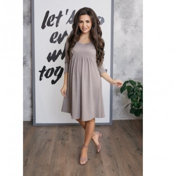 Платье для беременных To Be Мокко 4087285
