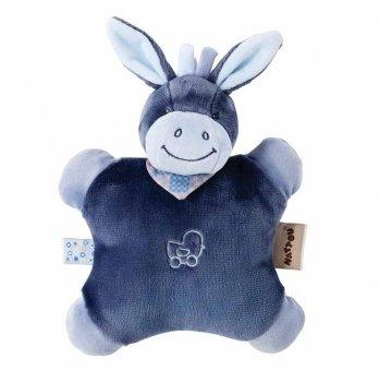 Мягкая игрушка-подушка Nattou, ослик Алекс, 24см