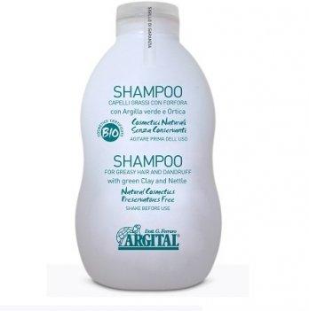 Шампунь для жирных волос и против перхоти Argital 500 мл