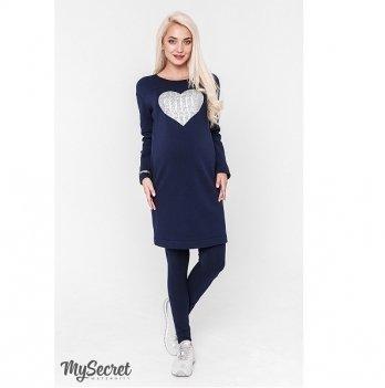 Лосины для беременных MySecret Hilla new12.36.025 синий