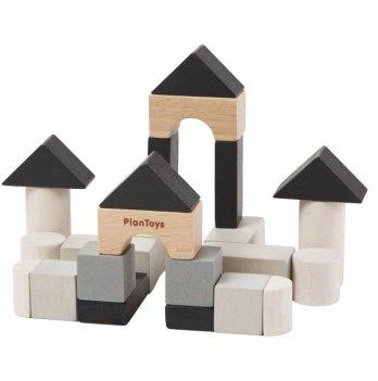Деревянный набор PlanToys® Кубики для строительства