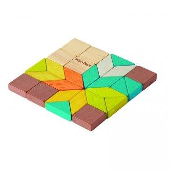 Деревянная развивающая игрушка PlanToys® Мозаика