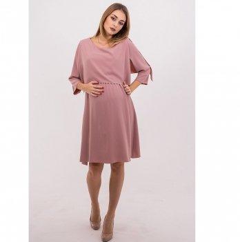 Платье для беременных и кормящих To Be Розовый 4135544