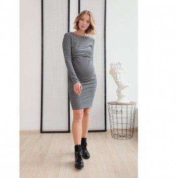 Платье для беременных и кормящих To Be Синий 4139070