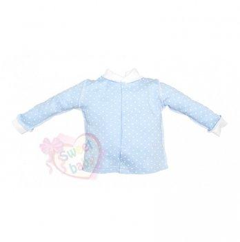 Кофточка SWEET BABY Бусинка, голубая
