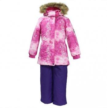Зимний термокомплект для девочки Huppa RENELY, нежно розовый