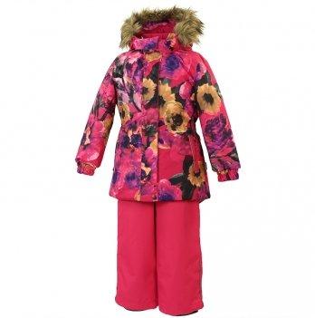 Зимний термокомплект для девочки Huppa RENELY, розовый