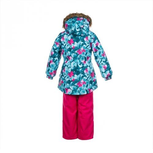 Зимний термокомплект для девочки Huppa RENELY1, бирюзовый