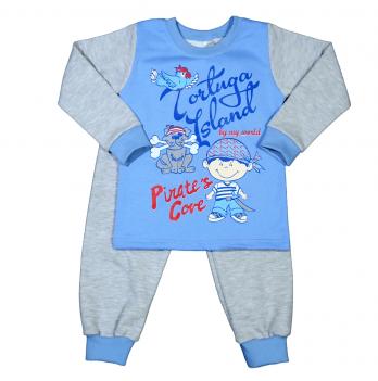 Пижама теплая для мальчика Мій Світ, Пират