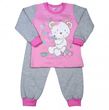 Пижама теплая для девочки Мій Світ Мишка