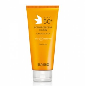 Солнцезащитный лосьон SPF 50 Babe Laboratorios 200 мл