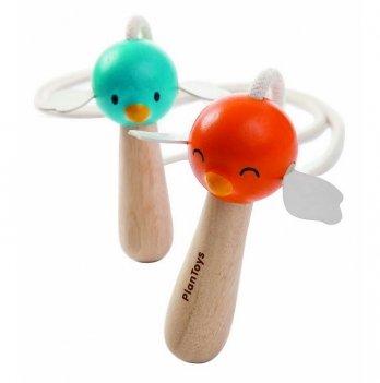 Скакалка с деревянными ручками PlanToys®