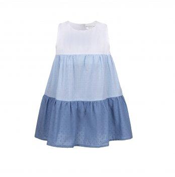 Детское платье ТМ Sasha Голубой 4357