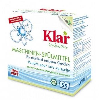 Органические таблетки для посудомоечных машин Klar 25 штх20 гр