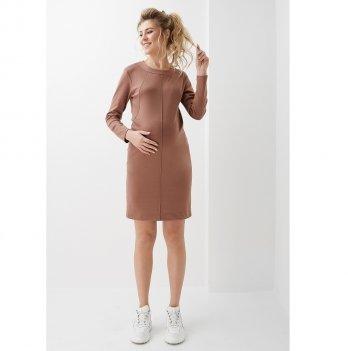Платье для беременных и кормящих Dianora Коричневый 2020 1314