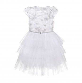 Детское платье ТМ Sasha Белый 4415