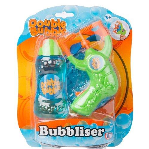 Double Bubble Пистолет для выдувания пузырей+ 125 мл бутылочка