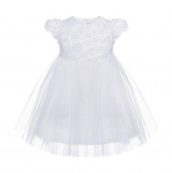 Детское платье ТМ Sasha Молочный 4450
