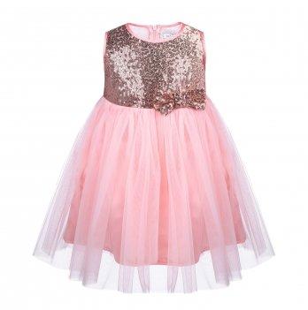 Детское платье ТМ Sasha Персиковый 4452