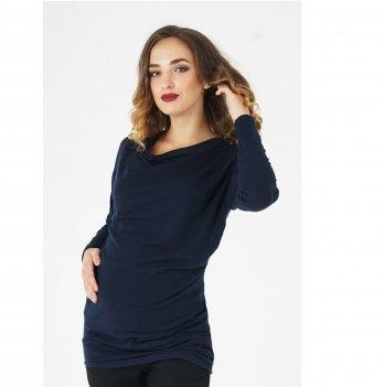 Джемпер для беременных To Be Темно-синий 4035647